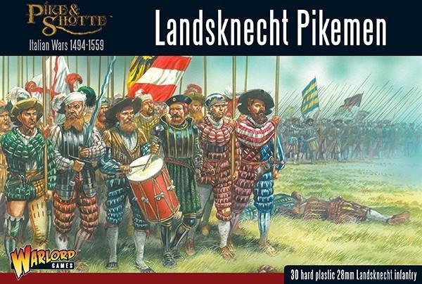 Landsknechts Pikemen  -  Warlord Games