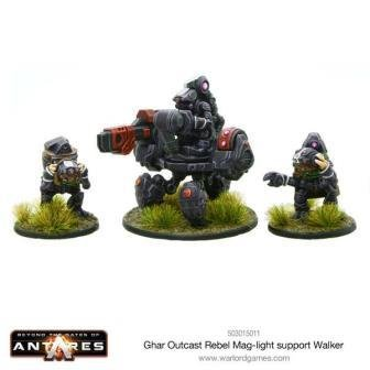 Ghar Outcast Rebel Mag-light support team