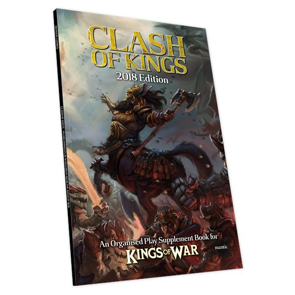 Clash Of Kings 2018 -  Mantic Games