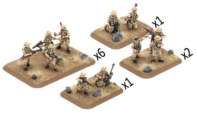 Rifle Platoon - 8th Army (plastic)