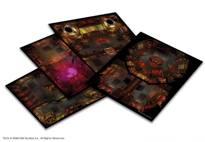 STAR TREK ADVENTURES: THE NEXT GENERATION KLINGON TILE SET