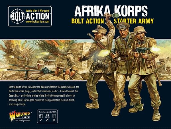 Bolt Action - Afrika Korps Starter Army