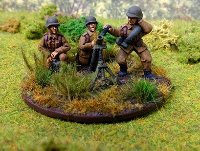 Hungarian 81mm Mortar Team