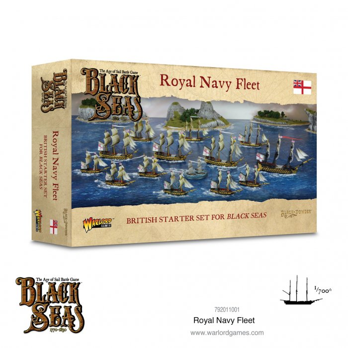 Royal Navy Fleet (1770-1830) -  Warlord Games