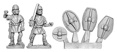 Roman Penal Legion with Gallic Armaments