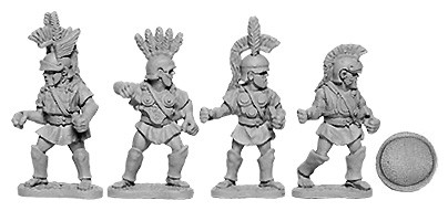 Oscan Armoured Infantry with Hoplite Shield