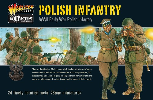 Early War Polish Infantry Boxed Set