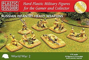 1/72nd Russian Infantry Heavy Weapons