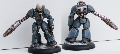 Kruse, Veteran Power Armour Soldat