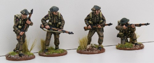British Infantry Riflemen II