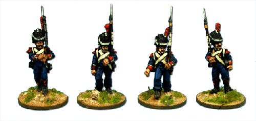 French Legere Elites, in bearskin