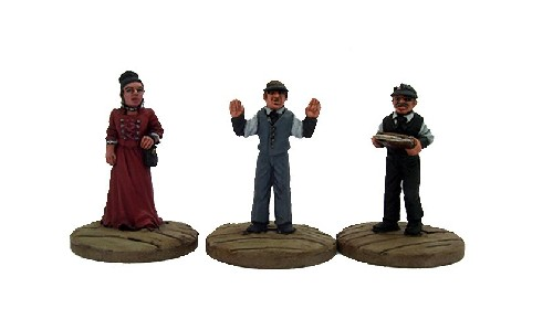 Bank Figure Set