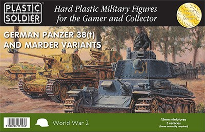 15mm Pz 38T and Marder variants