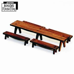 Long Trestle Table X 1 & Benches X 4