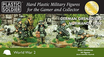 15mm German Grenadiers in Normandy '44