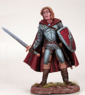 MALE FIGHTER WITH SWORD AND SHIELD - EASLEY