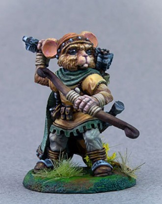 MOUSE RANGER WITH BOW
