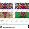 Photo of British 4th Division Infantry Flags (Sheet 4 of 4) (BRC017)