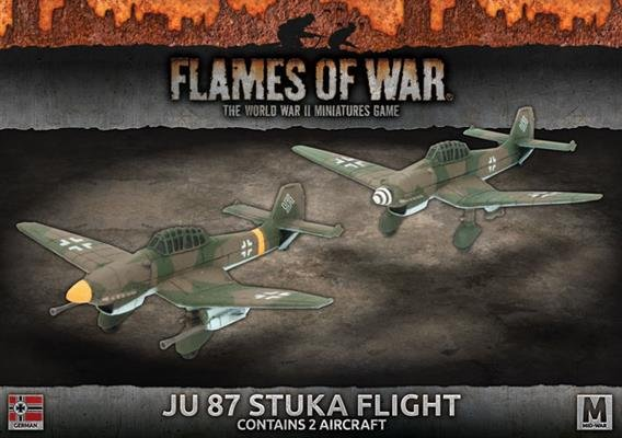 Ju 87 Stuka Flight