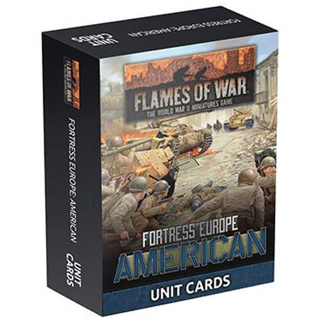 American Unit Cards - Fortress Europe