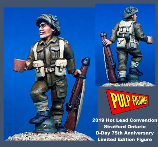 D-Day Commemorative Figure