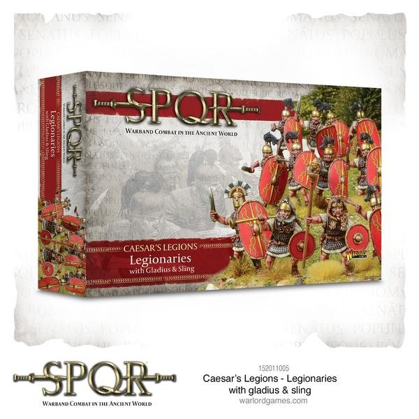 SPQR: Caesars Legions Legionaries with Gladius and Sling -  Warlord Games