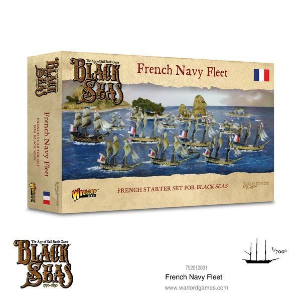 French Navy Fleet (1770-1830) -  Warlord Games