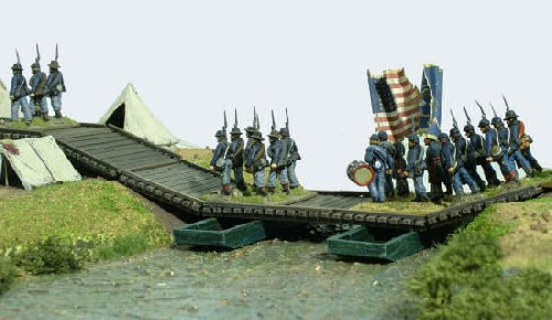Wooden Pontoon Bridge