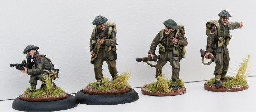 British Infantry Bren Team
