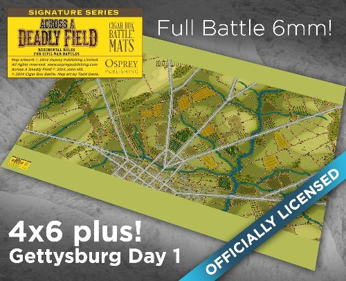 GETTYSBURG DAY 1 SMALL SCALE 6MM