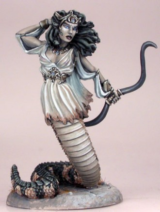 Gorgon with Bow