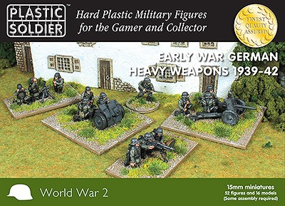 15mm Early War German Heavy Weapons 1939-42