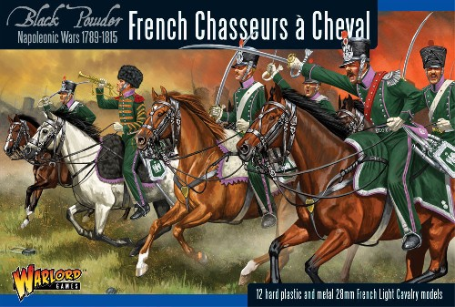 Napoleonic French Chasseurs & Cheval Light Cavalry