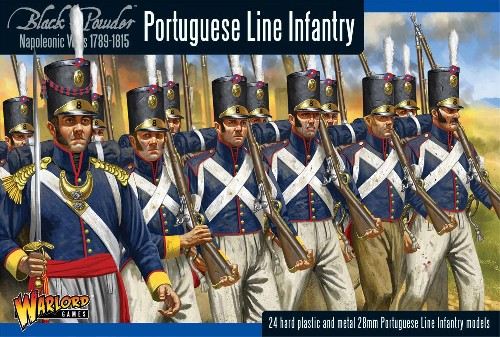 Napoleonic Portuguese Line Infantry -  Warlord Games