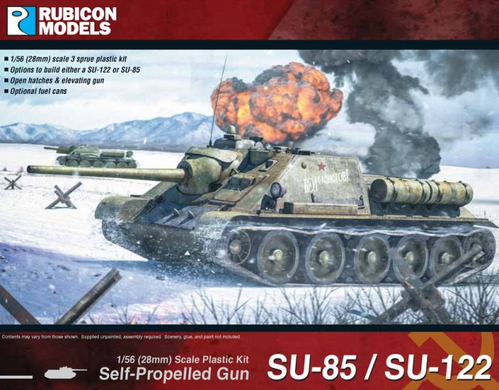Soviet SU 85/SU122 Self propelled gun