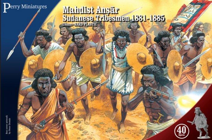 Photo of Mahdist Ansar - Sudanese Tribesmen 1881-1885 (SA30)