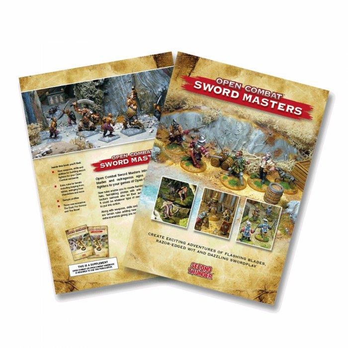 Open Combat: Sword Masters Supplement -  Second Thunder
