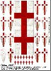 Photo of Templar (Milites Christi) Banner and Shield Transfers (LBMS SAGA SMO 99a)