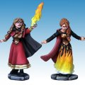 Photo of Female Elementalist Wizard and Apprentice (FW6001)