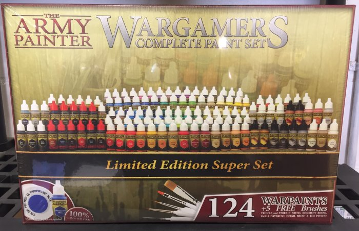 Army Painter Wargamers Complete Paint Set