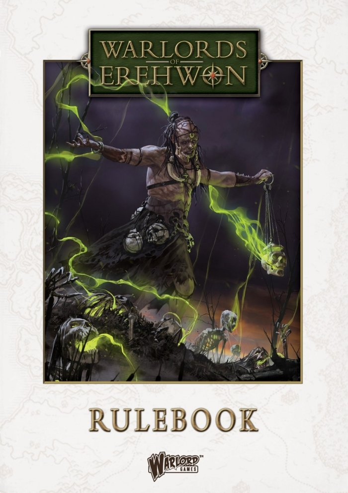 Warlords of Erehwon Rulebook -  Warlord Games