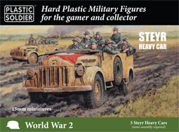 15mm German Steyr Heavy Car