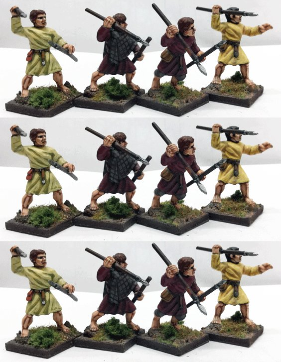 Welsh Bonnedig (Levy - JAVELINS)(12) 1 point