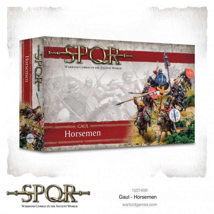 SPQR: Gaul Horsemen -  Warlord Games