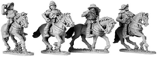 Greek Cavalry with Petasos & Pilos