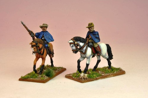 Mounted BSAC Troopers in Capes