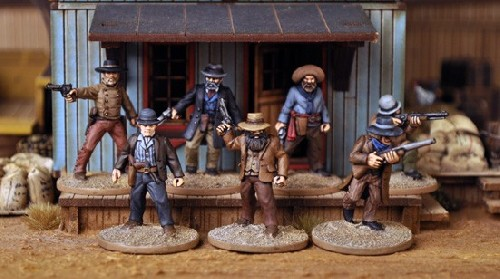 Dead Man's Hand - Outlaw Gang