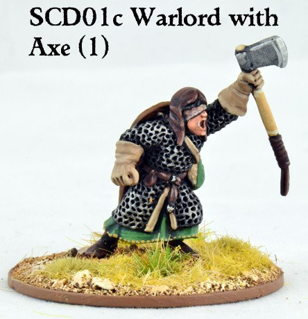 Crusader Warlord with Double Handed Axe