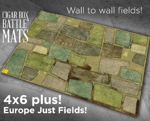 EUROPE JUST FIELDS BATTLE MAT