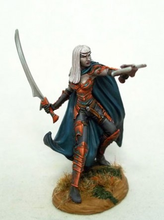Female Dark Elf with Crossbow